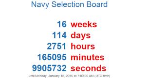 navy countdown